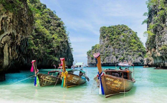 Viajar al sudeste asiático Islas de Koh Phi Phi