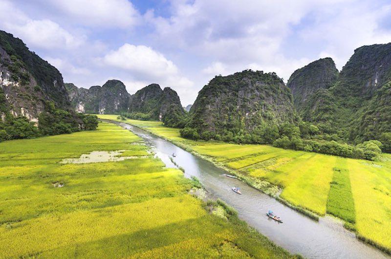 Vietnam con Ninh Binh y Camboya