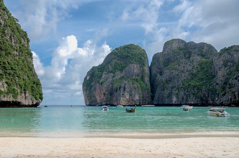 mejores lugares del sudeste asiático Koh Phi Phi