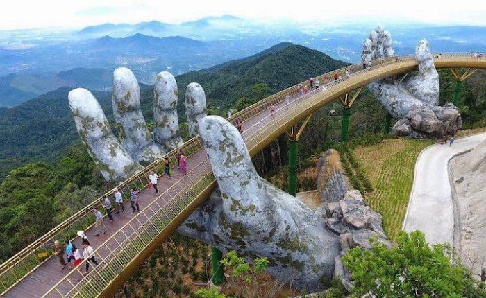 El Puente Dorado de Vietnam