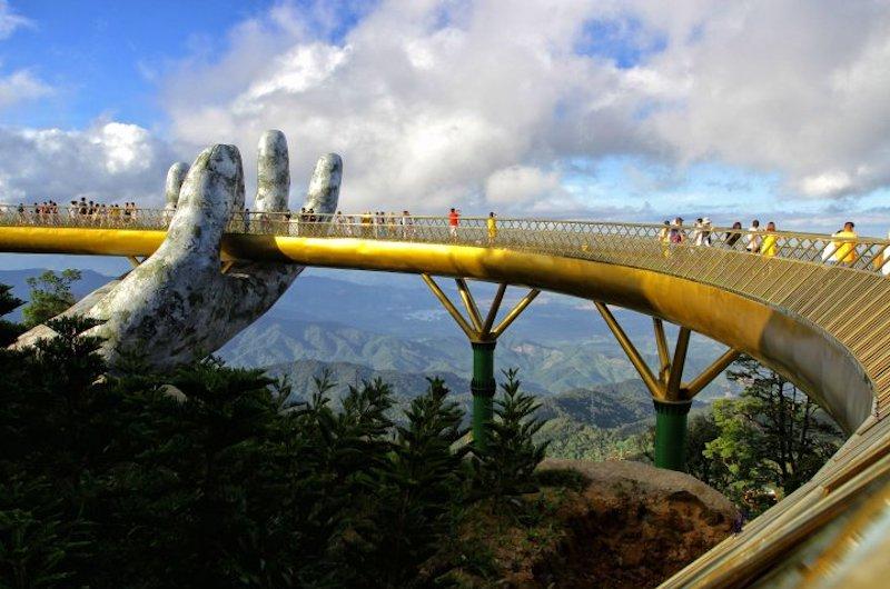 Dónde está el Puente Dorado de Vietnam