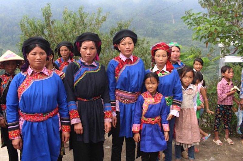 tribus en Vietnam