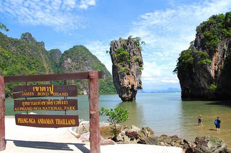 Bahia de Phang Na Isla de James Bond