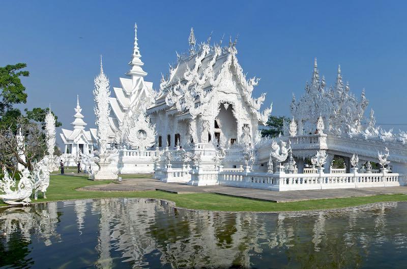 Excursion templo blanco y templo azul de Chiang rai