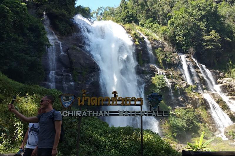 Las cascadas de Wachirathan