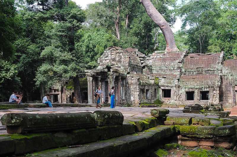 Viaje a Vietnam Camboya y Laos : las ruinas de Angkor