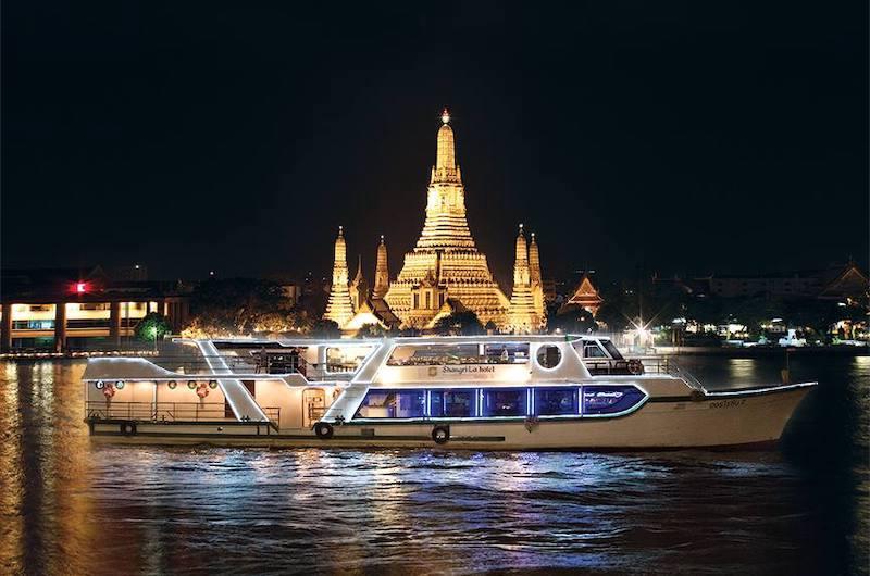 Crucero nocturno por el río Chao Phraya
