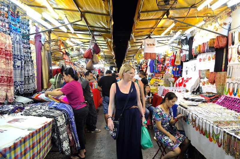 El mercado nocturno Patpong