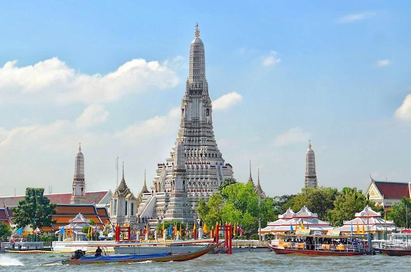 El templo de Wat Arun en Bangkok