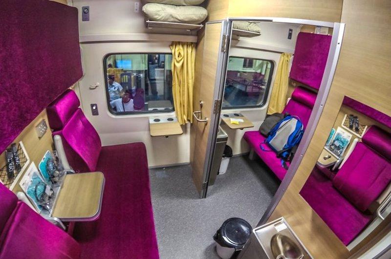 Cómo ir de Bangkok a Chiang Mai: El tren primera clase