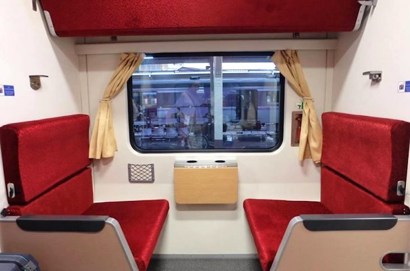 El tren segunda clase