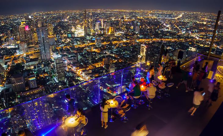 Que ver en Bangkok de noche