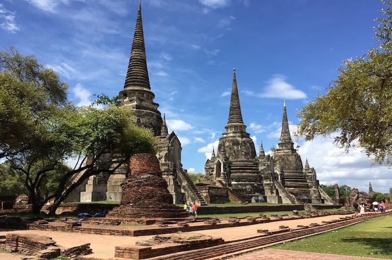 sitios para visitar en Tailandia: Wat Phra Si Sanphet