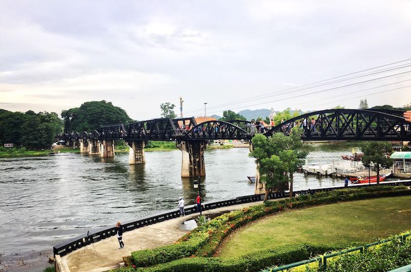 El puente sobre Rio Kwai