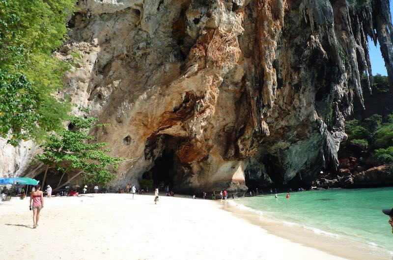 Que hacer en Railay: La playa de Phra Nang