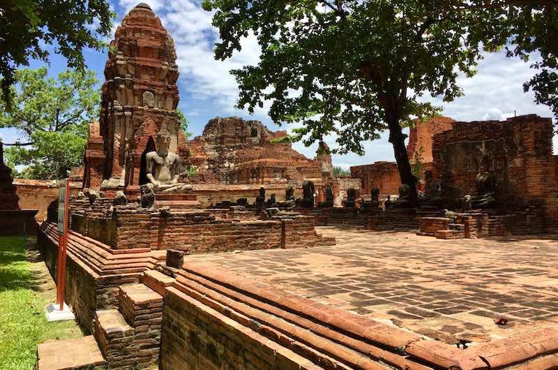 Las ruinas de Ayuthaya
