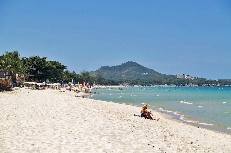 Playa Chaweng en Koh Samui