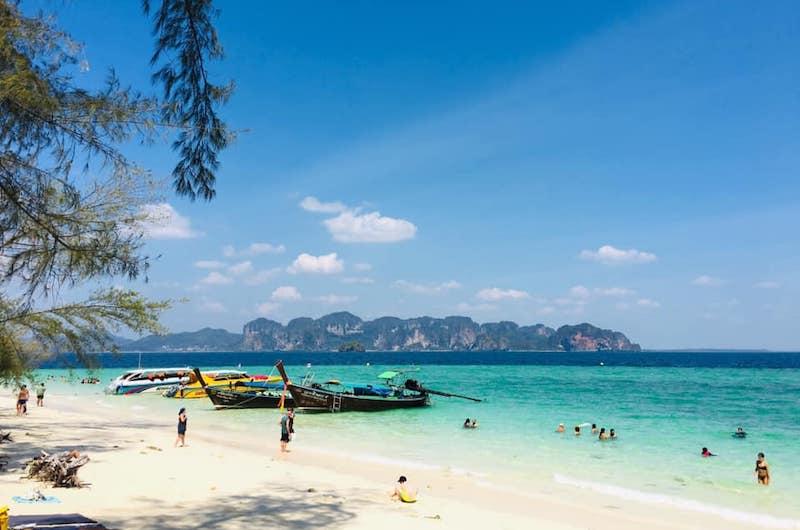 Playas de Tailandia en el mar de Andamán