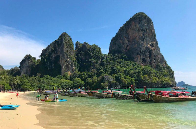 vacaciones en Tailandia: la península de Railay