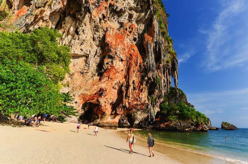 excursiones desde aonang: playa de Railay