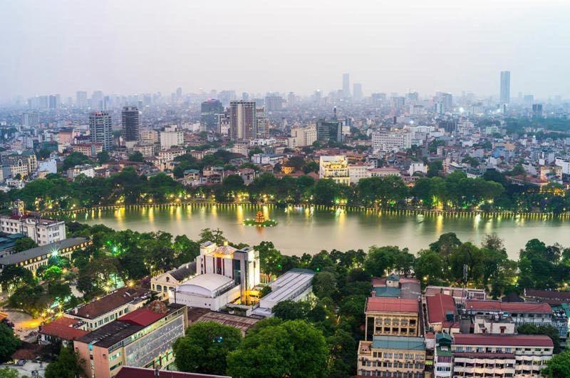 El Tiempo en Hanoi Temporada húmeda