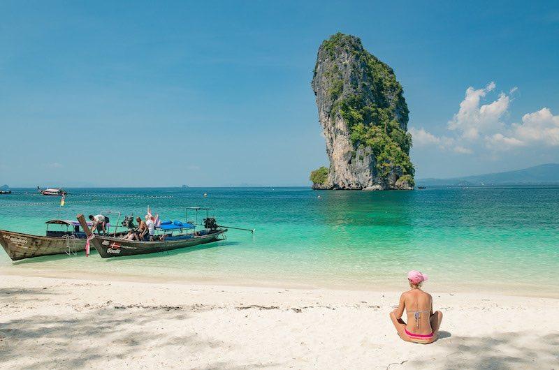 La isla Krabi