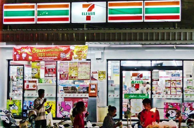 tiendas populares entre los tailandeses