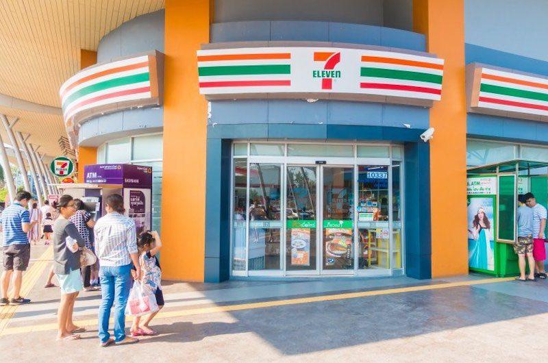 Seven Eleven tiendas famosas de Tailandia