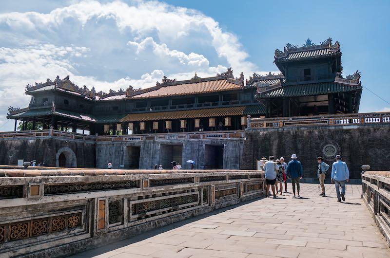 la capital imperial Hué en Vietnam