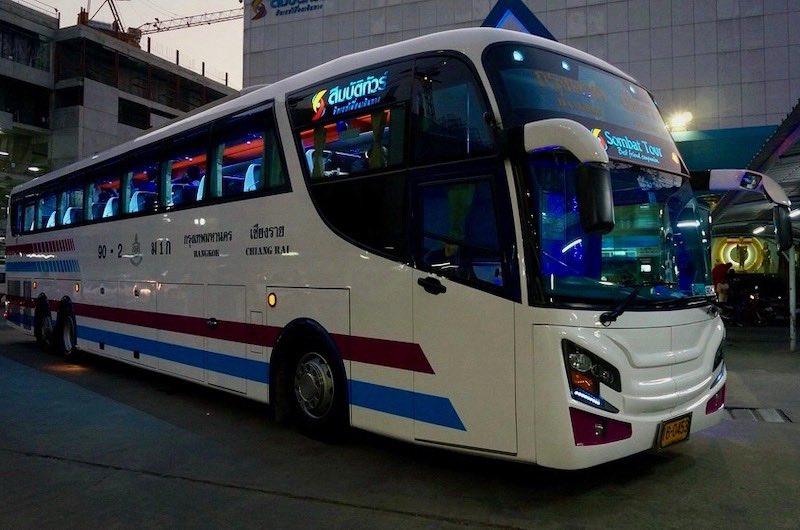 transporte en Tailandia Autobus