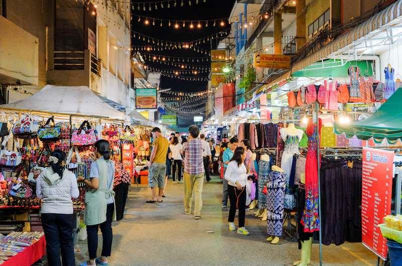 Bazar Nocturno de Chiang Rai