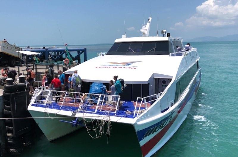 Ferry a las Islas Tailandia