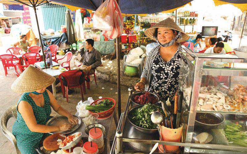 comer en Ho Chi Minh
