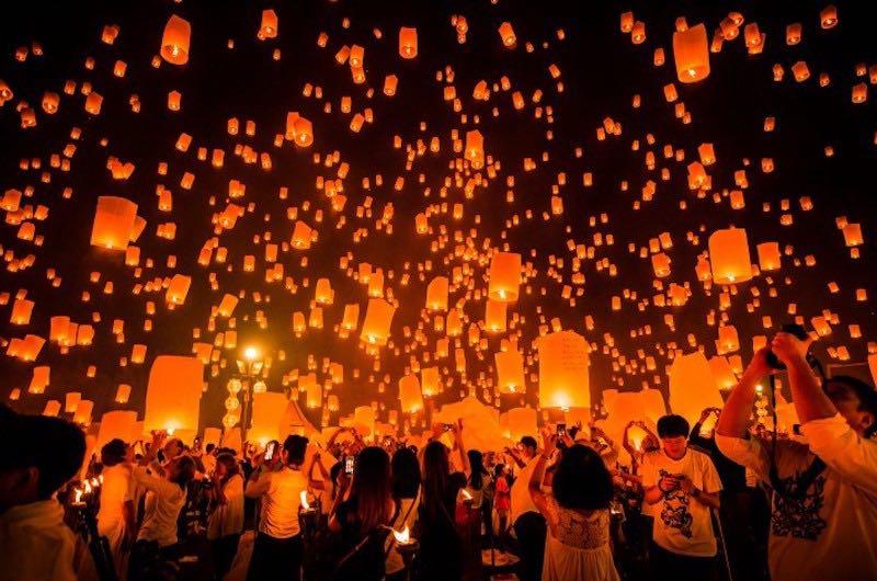 Las Fiestas de Loy Kratong