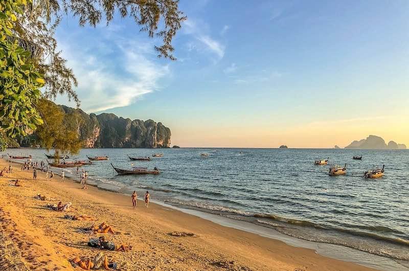 Playas de Krabi Aonang Beach