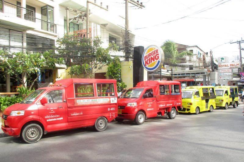 Taxis en Phuket