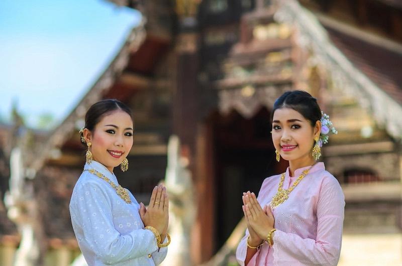 Wai el saludo tailandes