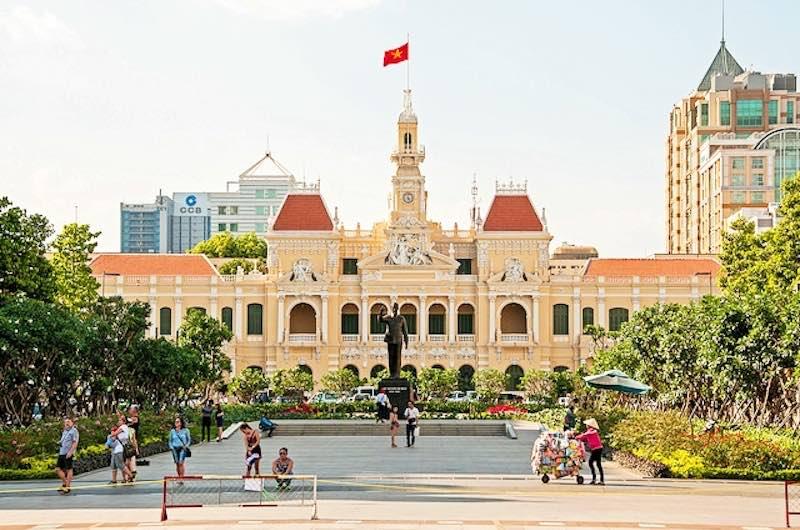 Centro de la ciudad Ho Chi Minh