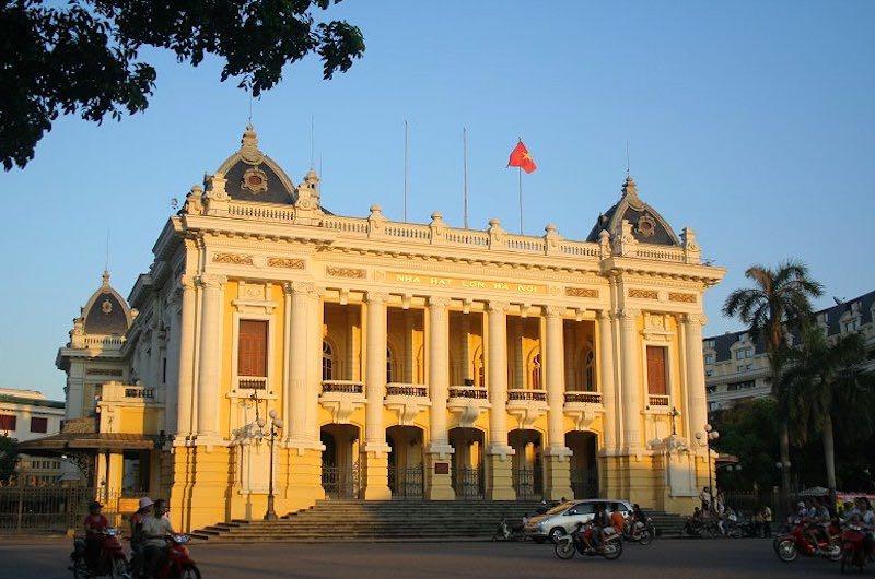 El Barrio frances de Hanoi