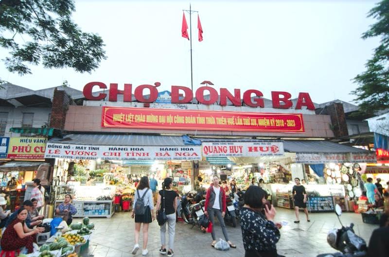 El Mercado de Dong Ba