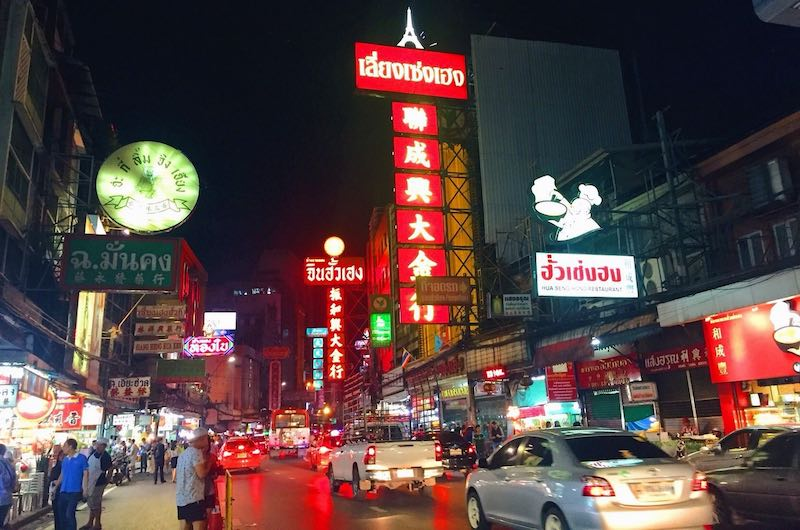 El barrio chino Bangkok