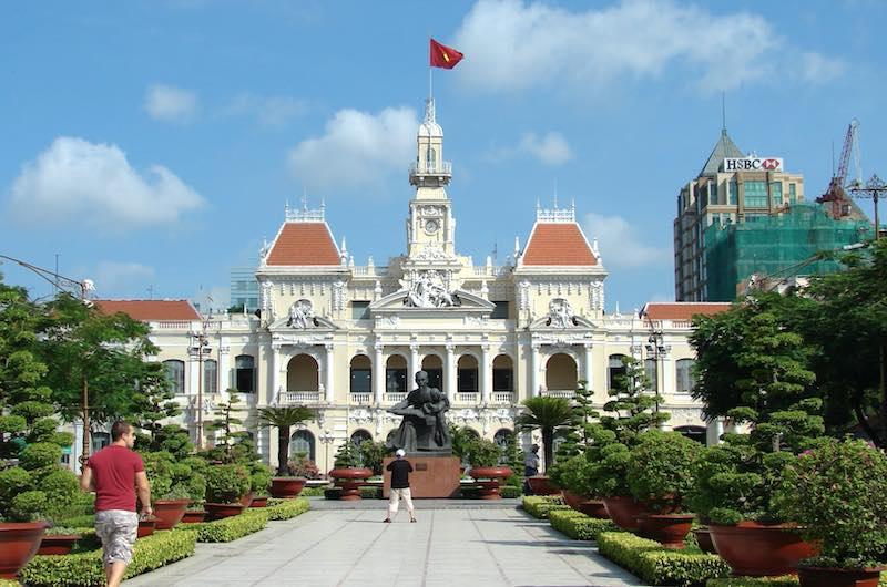 La antigua Saigon Ho Chi Minh