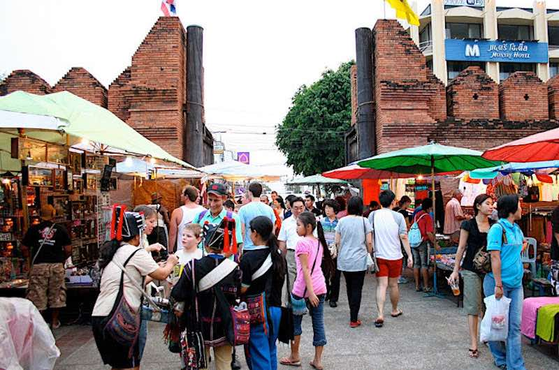 compras en Tailandia Mercadillos de Chiang Mai