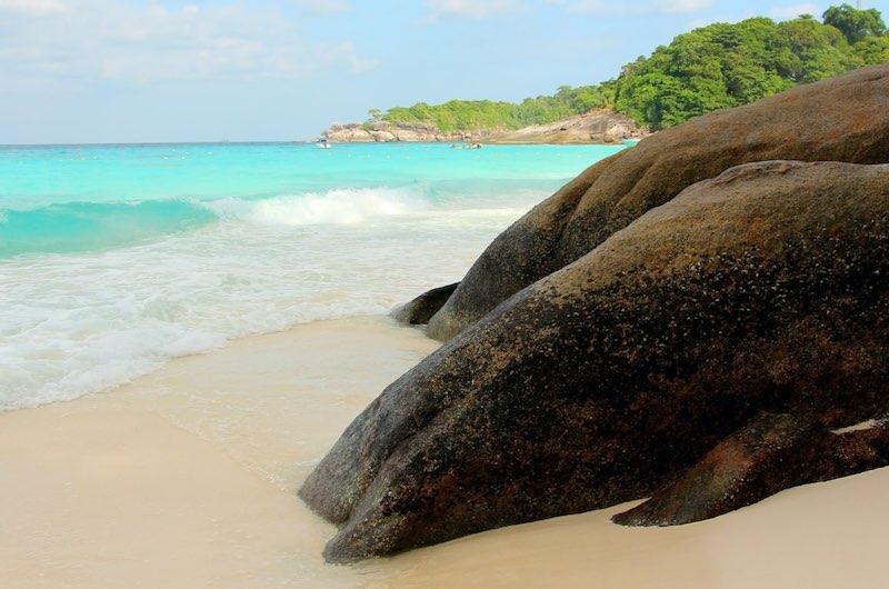 Playa de Koh Miang en Islas Similan