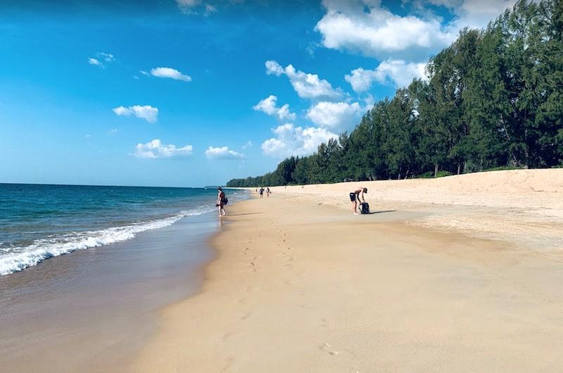 Playa de Mai Khao en Phuket