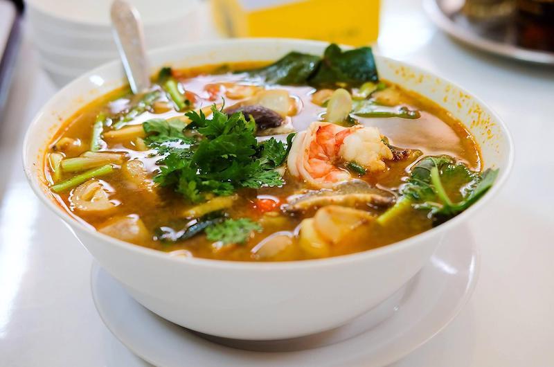 Sopa Tom Yum Goong