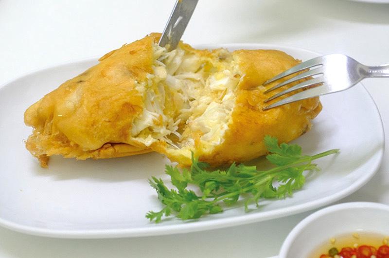 Jay Fai Tortilla de cangrejo