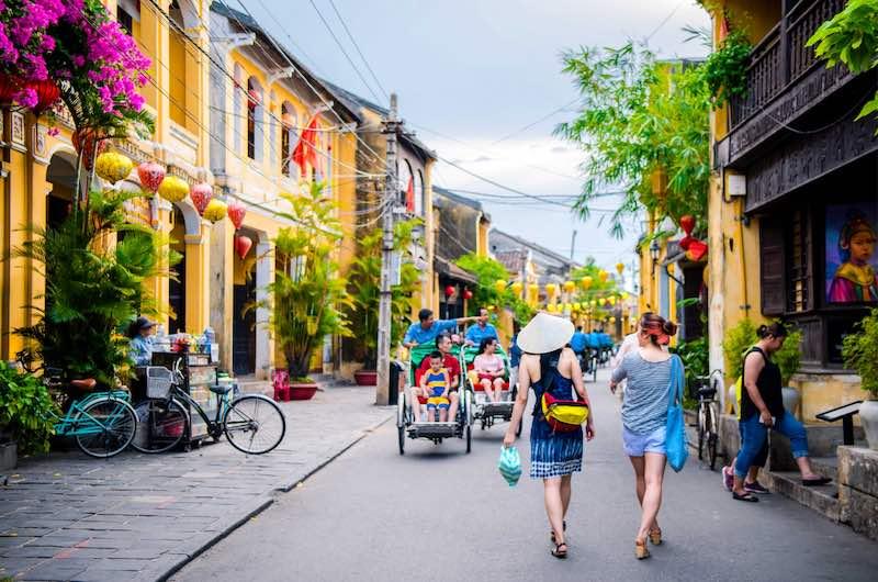 la ciudad Hoi An Vietnam